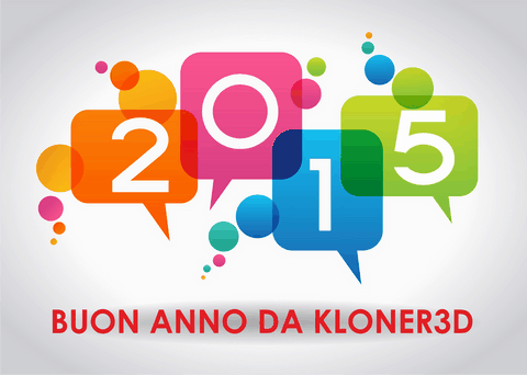 BUON ANNO 2015 BY KLONER3D